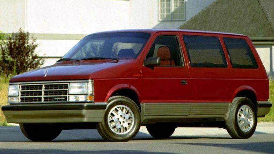 #4. Dodge Caravan Turbo Minivan Featured