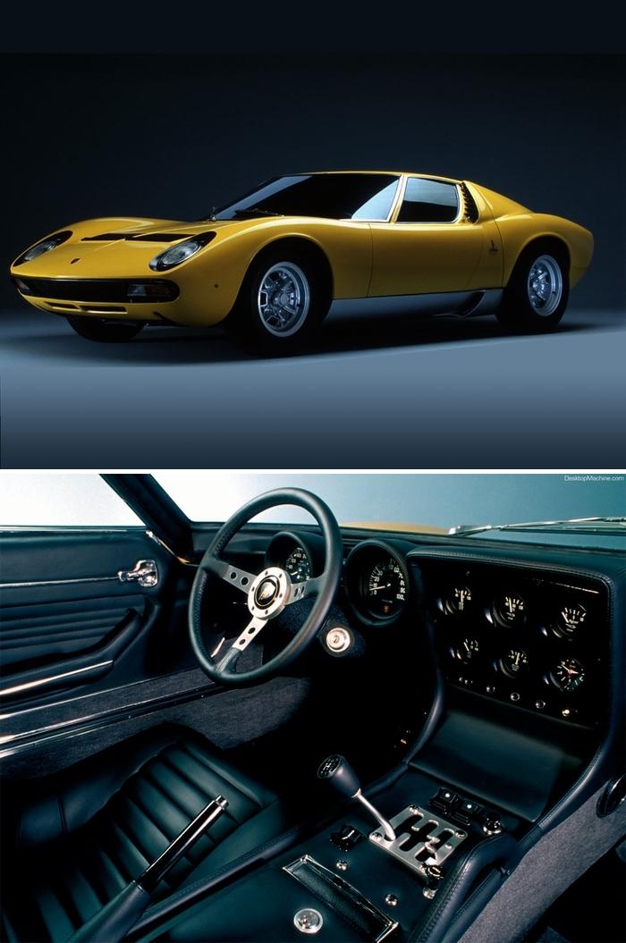 #5. Adam Carolla - Lamborghini Miura