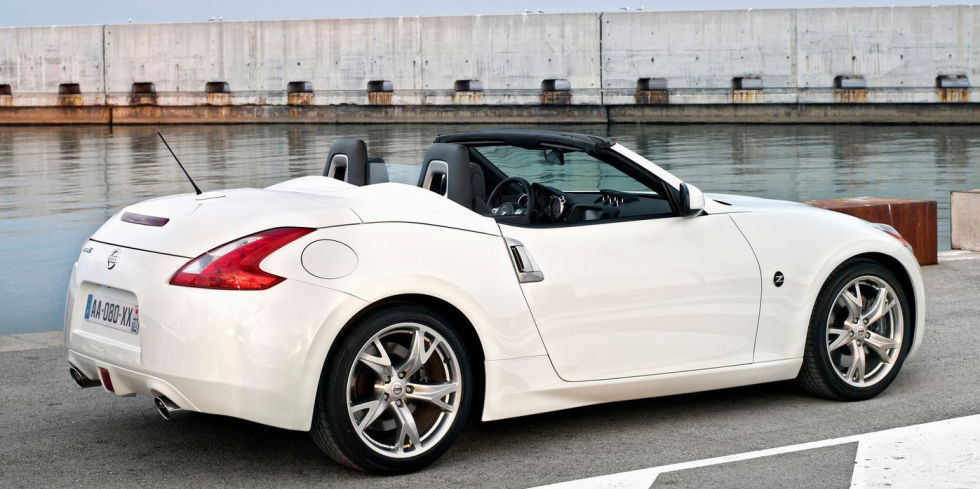 #9. Nissan 370 Z Roadster – $41,820 Top Rated Convertibles