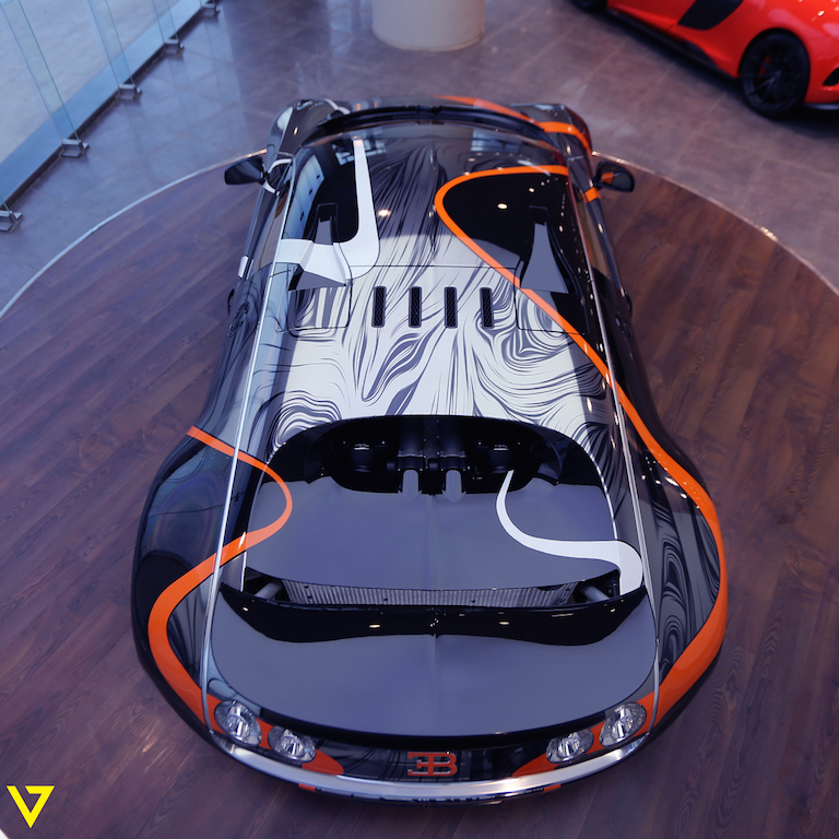 A Veyron with Artistic Flair is On Sale in Saudi Arabia (anotherone)