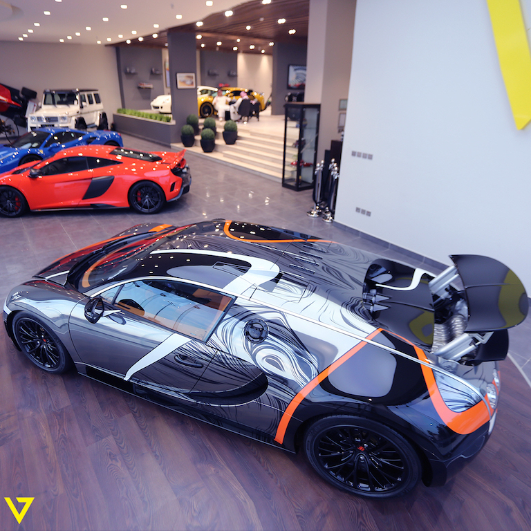 A Veyron with Artistic Flair is On Sale in Saudi Arabia (epicone)