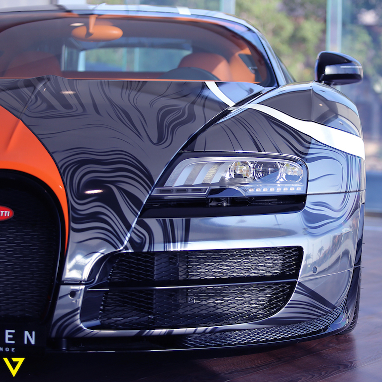 A Veyron with Artistic Flair is On Sale in Saudi Arabia (look)