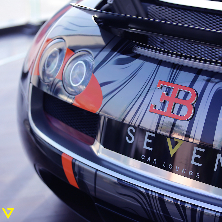 A Veyron with Artistic Flair is On Sale in Saudi Arabia
