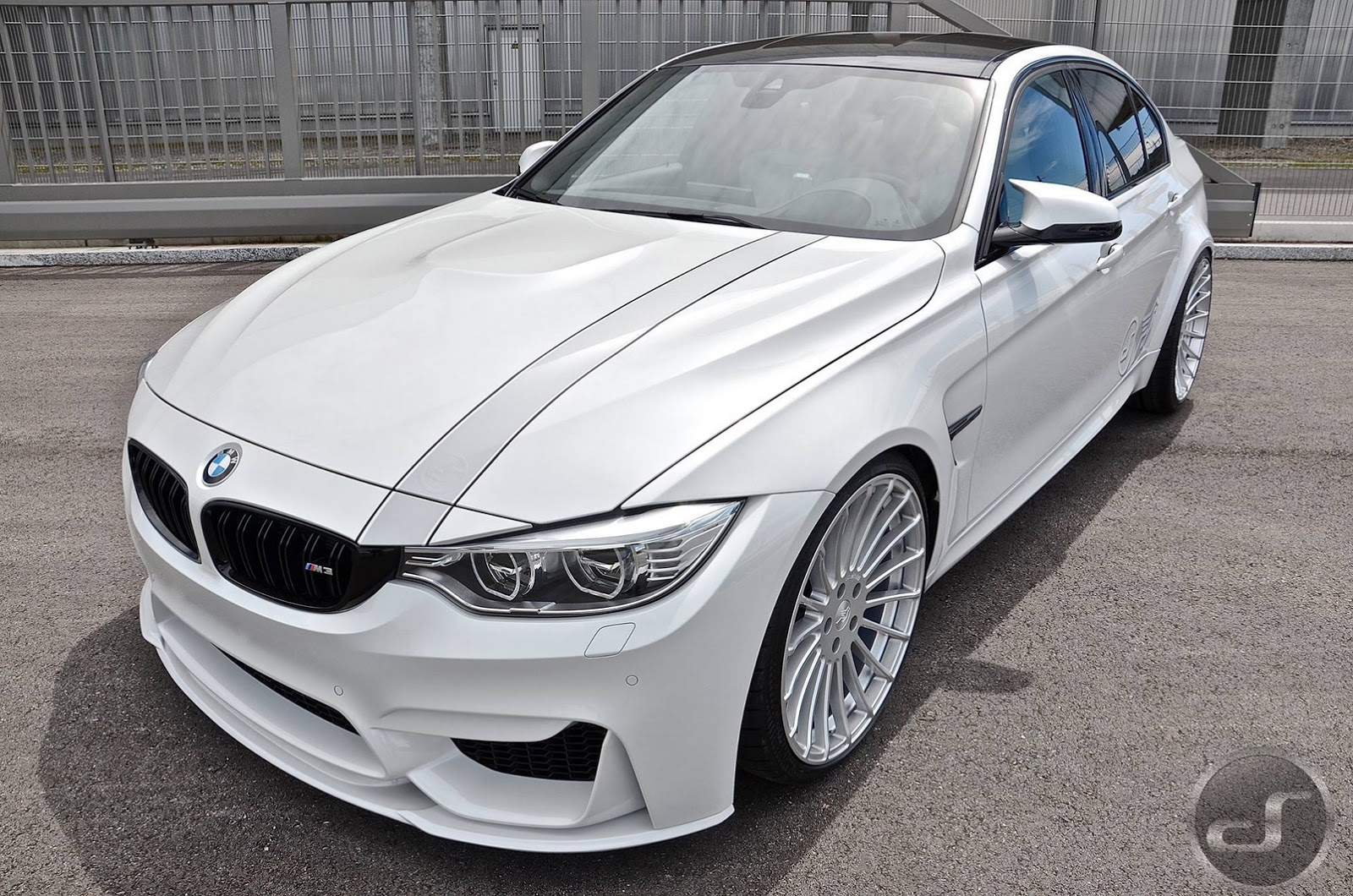 BMW M3 Gets the Hamann (Front II)