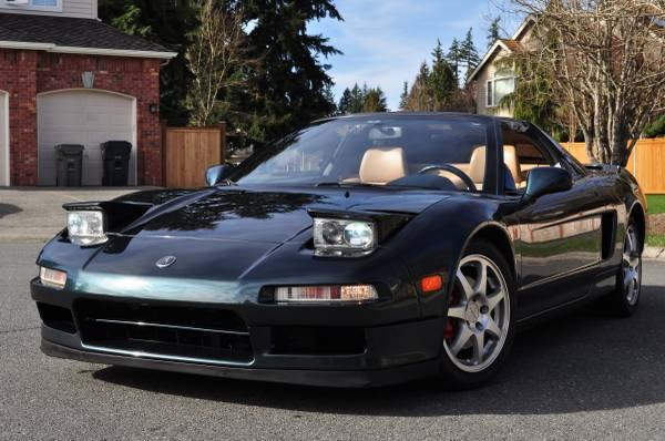 Cars With Pop Up Lights - Acura NSX