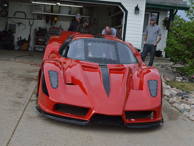 Canada's Only Jet-Propelled Ferrari Enzo - Front
