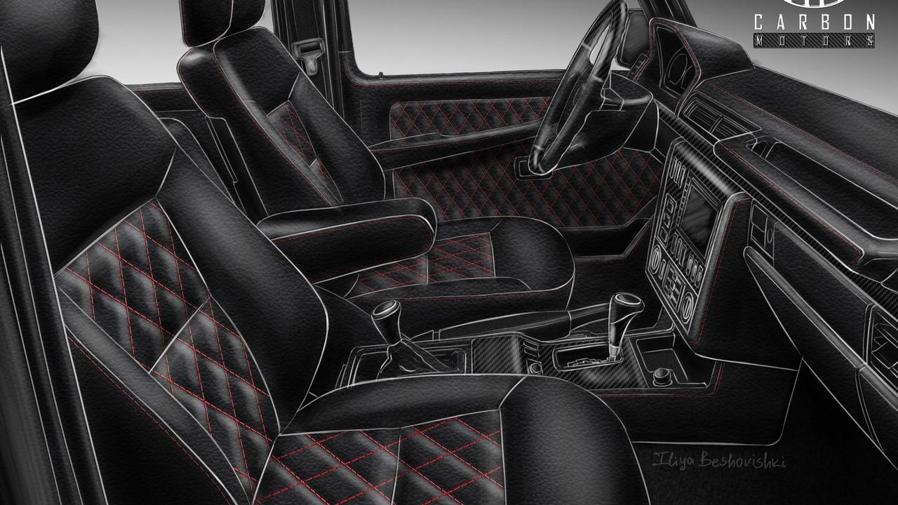 Carbon Motors Removes All Plastic Bits from Mercedes G-Class' Interior (3)