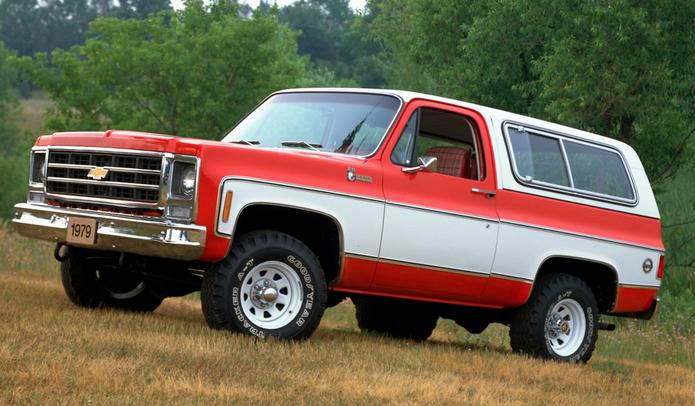 Classic SUV Models That Need Resurrecting - Chevrolet-Blazer