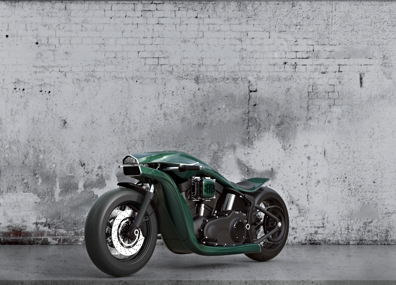 Harley Davidson Softail Concept 7