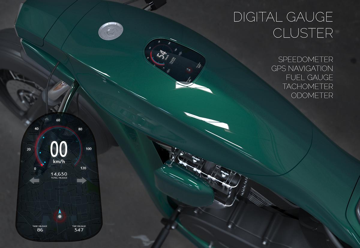 Harley Davidson Softail Concept 6