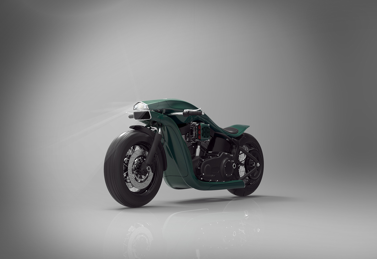 Harley Davidson Softail Concept 2