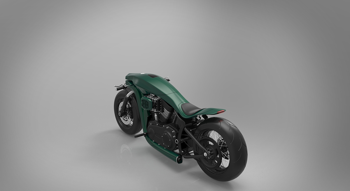 Harley Davidson Softail Concept 3