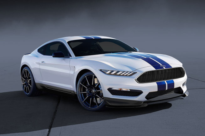 Ford S 2020 Shelby Mustang Concept Car
