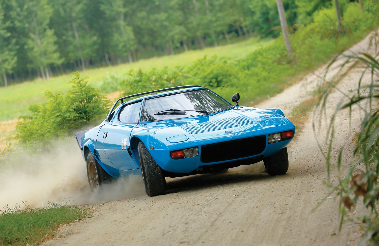 Cars With Pop Up Lights - Lancia Stratos