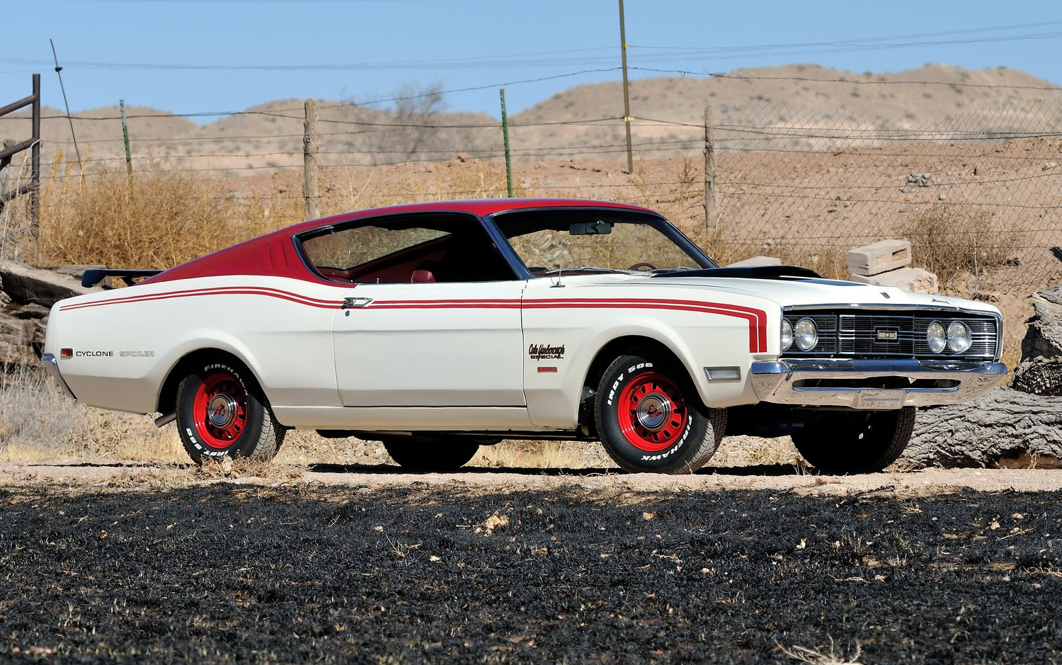 Fastest Classic Muscle Cars - Mercury Cyclone