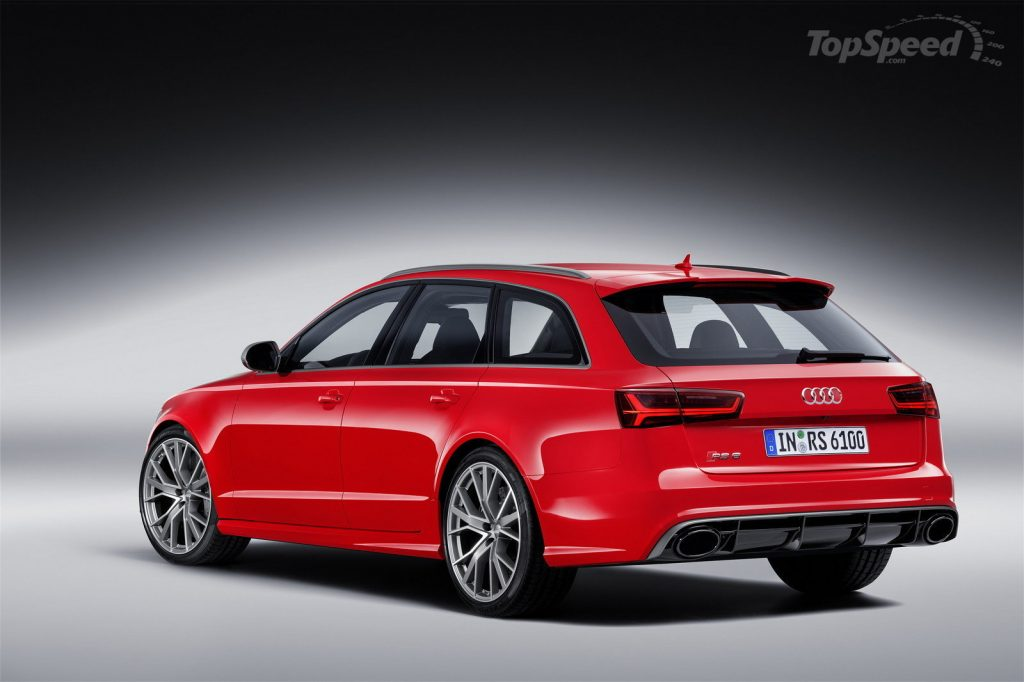 Audi RS6 - Hot Rod Station Wagon Material?