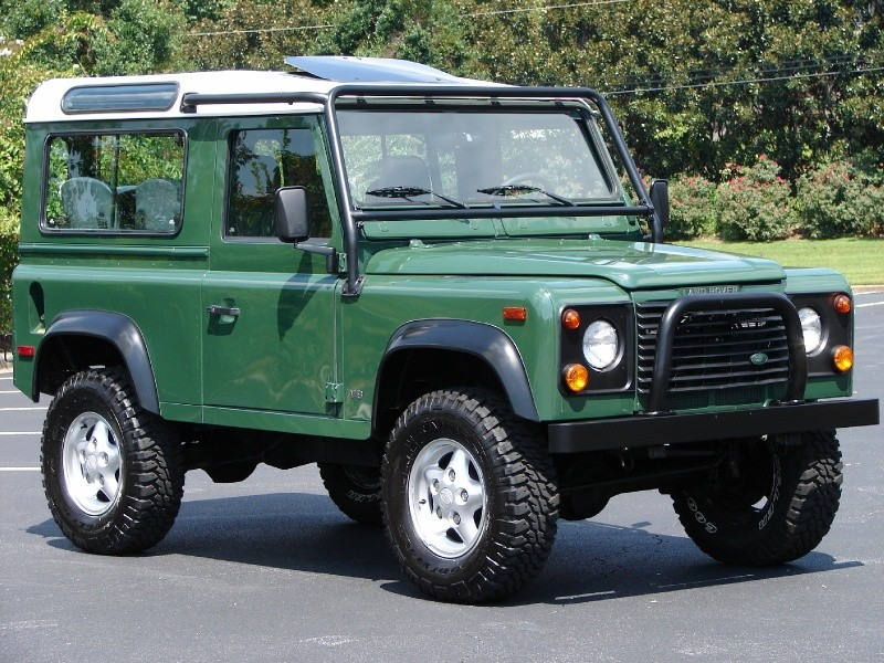 Classic SUV Models That Need Resurrecting - Land Rover Defender