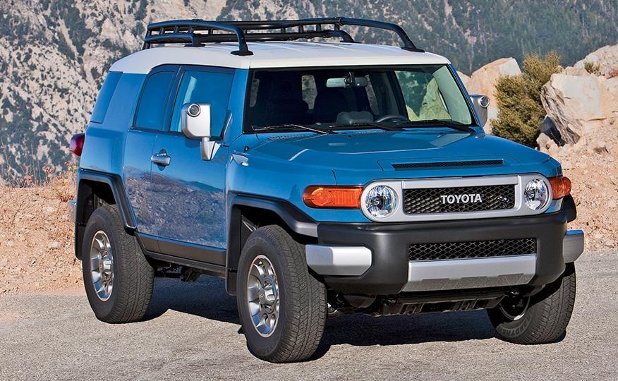 Classic SUV Models That Need Resurrecting - fj cruiser