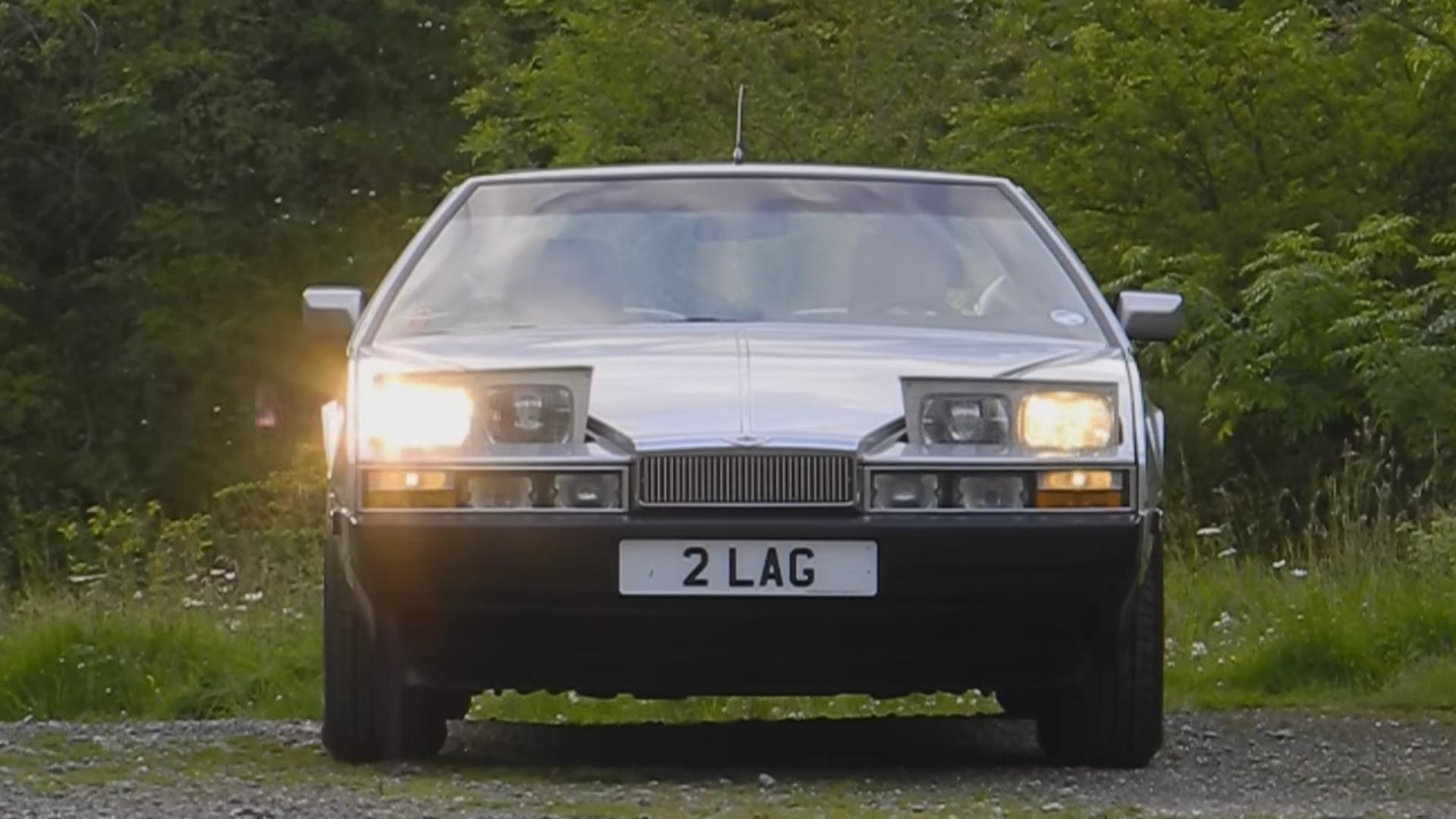 Cars With Pop Up Lights - Aston Martin Lagonda