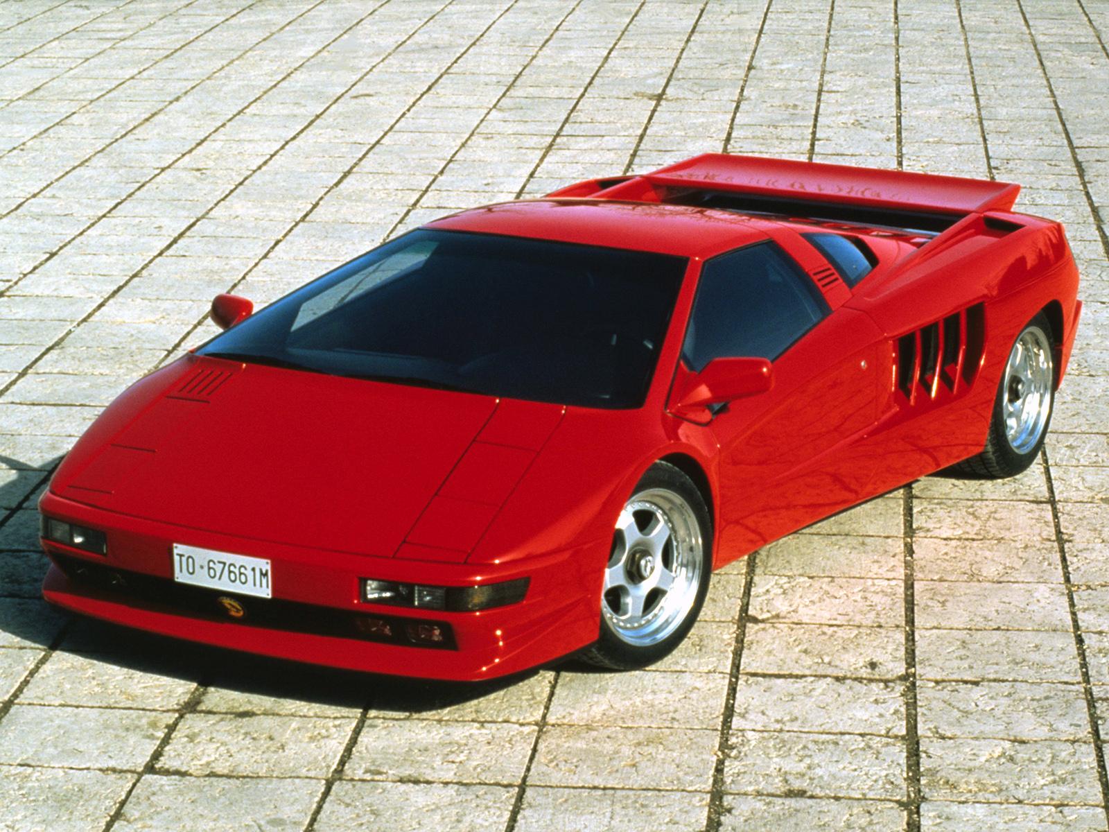 Forgotten 90s Supercars - cizeta-v16t