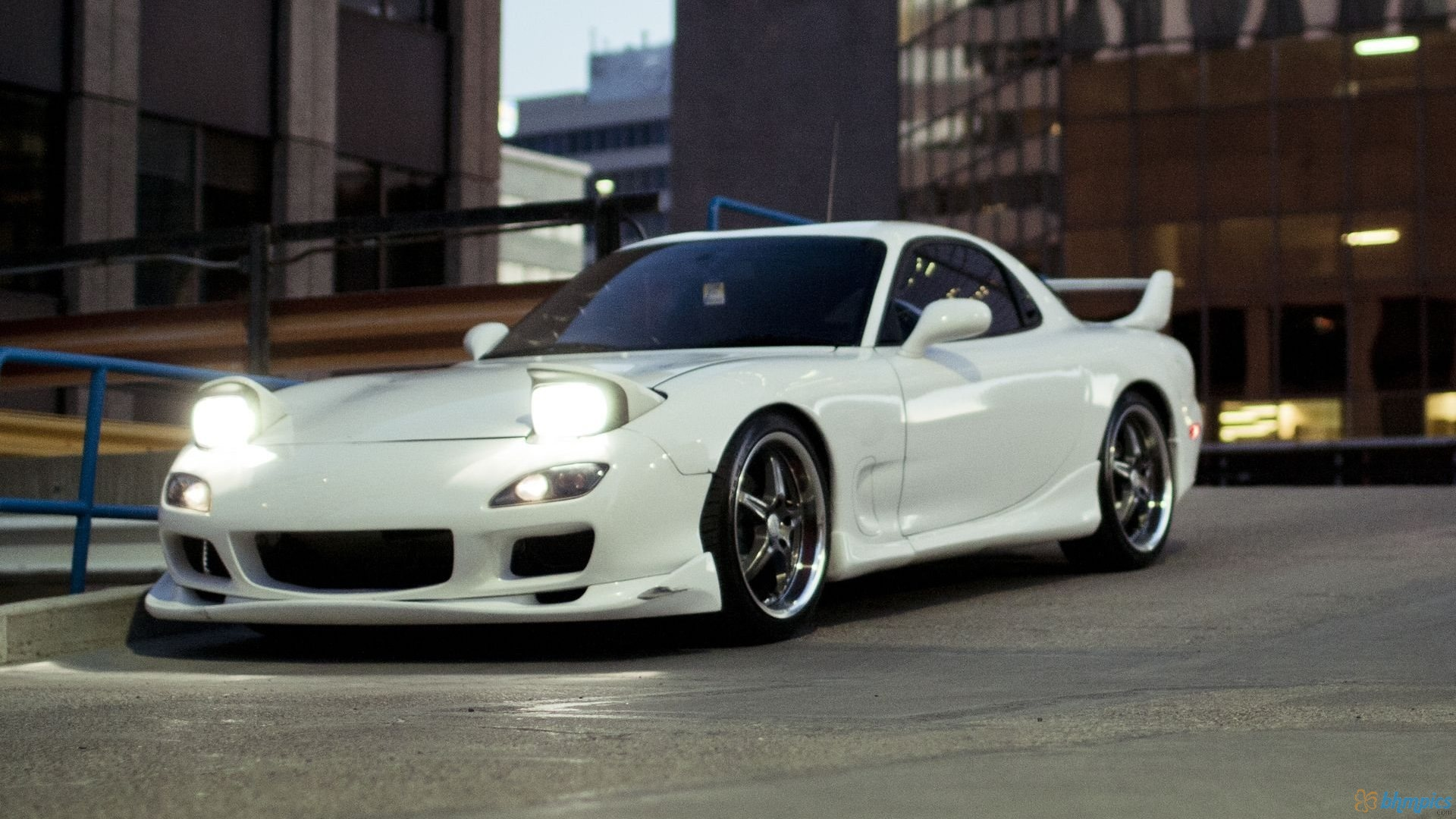 Cars With Pop Up Lights - Mazda RX-7