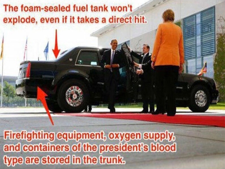 supply of oxygen is stored in the truck