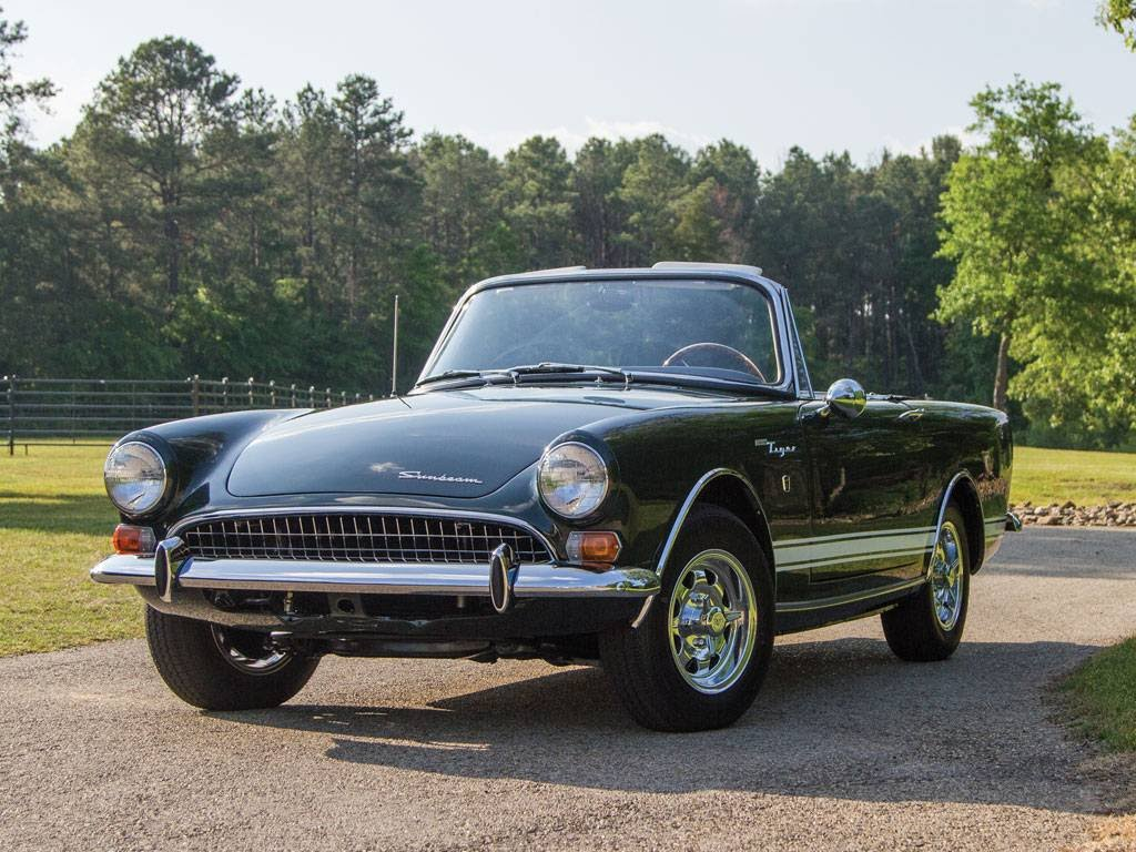 Forgotten Classic Cars - Sunbeam Tiger