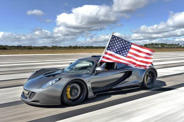 fastest american car - Hennessy Venom GT