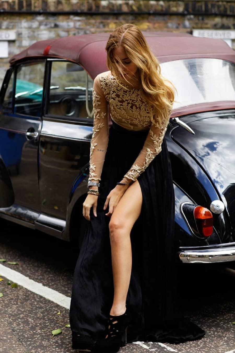 Chiara Ferragni  is a female celebrit y car enthusiast with incredible taste