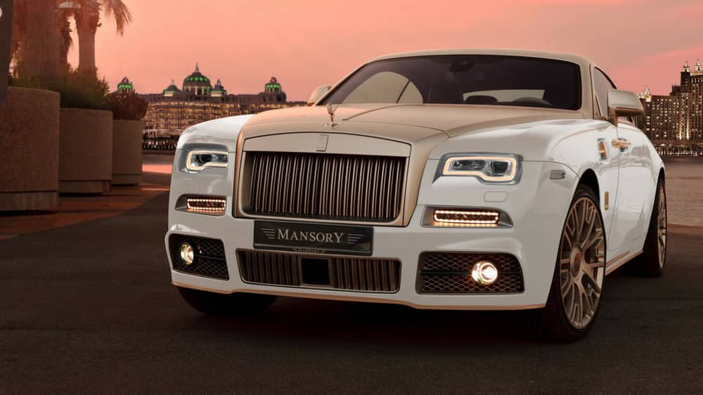 Rolls Royce Wraith Palm Edition 999 by Mansory Cars