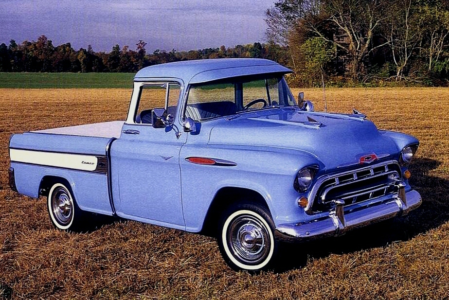 Revolutionary Pickup Truck - 1957-chevy-cameo