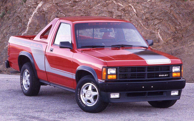 Badass Trucks & Cool SUVs - 1989-dodge-dakota-shelby