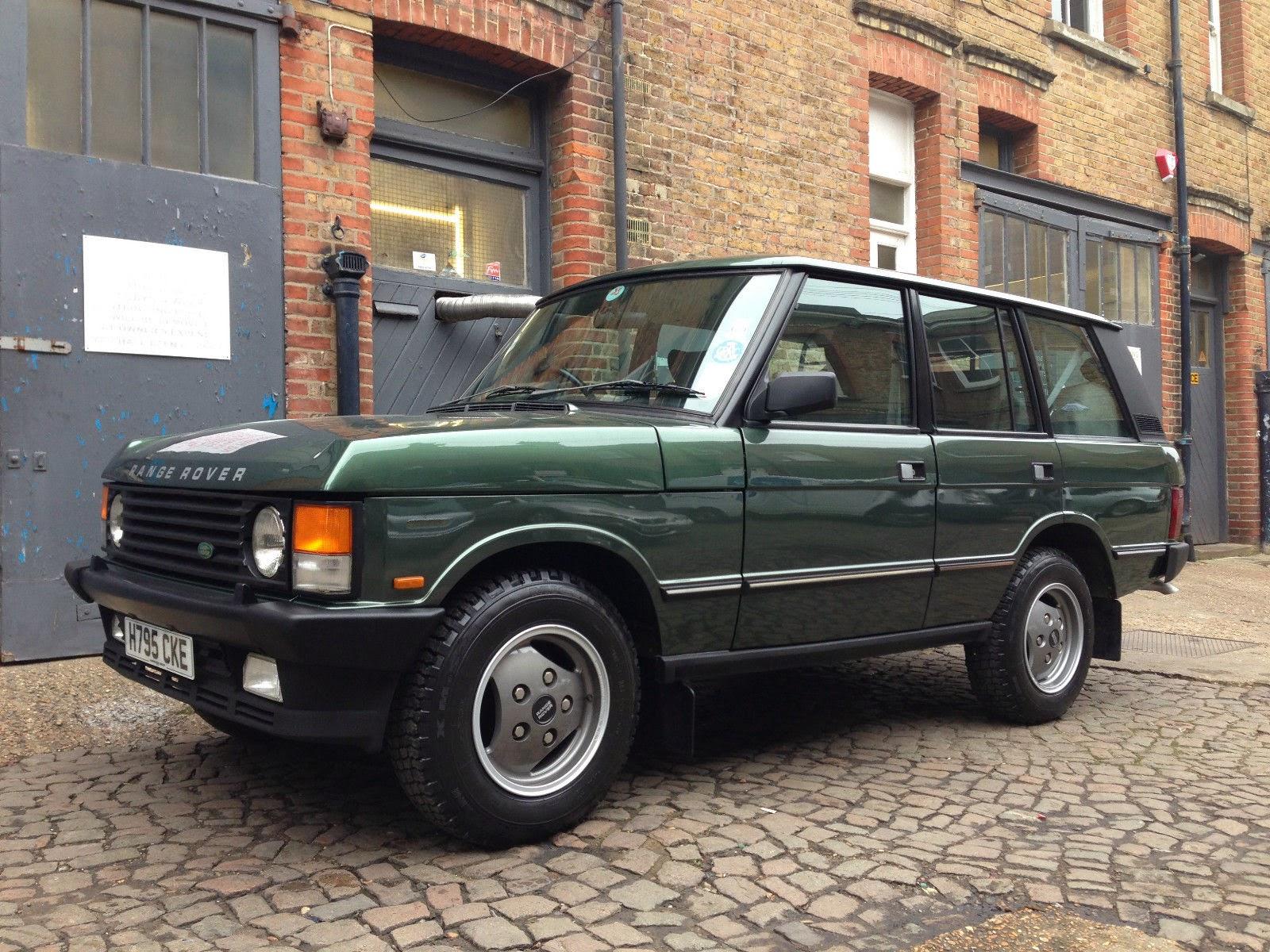 Badass Trucks & Cool SUVs - 1990-Land-Rover-Range-Rover-Vogue