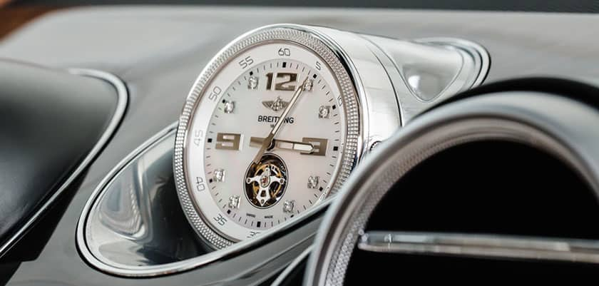 A Breitling Clock for the Bentley Bentayga costs $160,000
