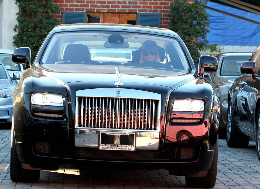 Paris Hilton's Rolls Royce Ghost