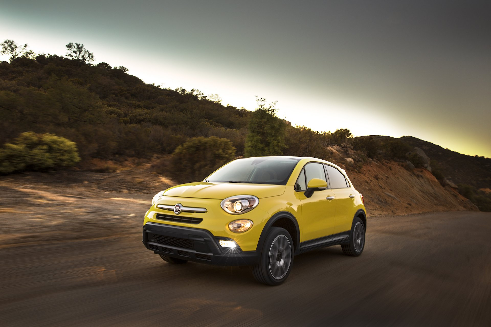 #2. 2016 Fiat 500X  is one of the best small crossover SUV models of the year