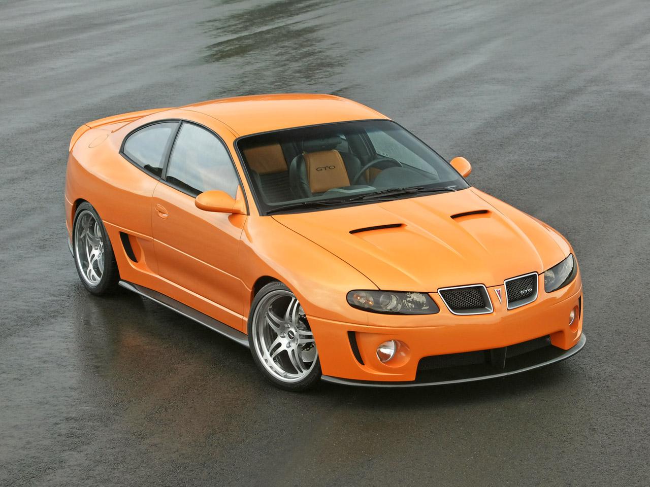 Discontinued Cars - Pontiac GTO