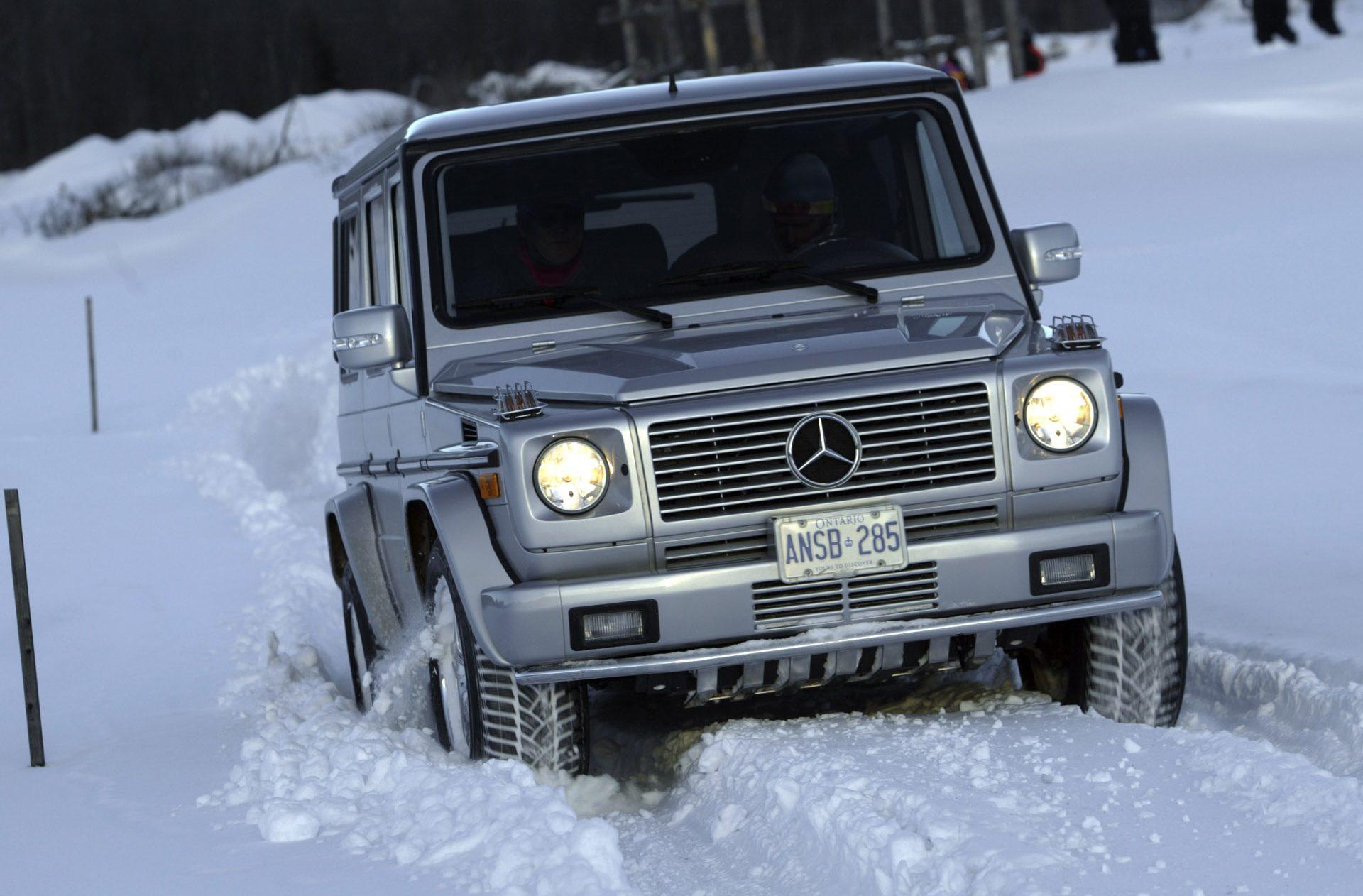 Badass Trucks & Cool SUVs - 2005-mercedes-benz-g-class-7