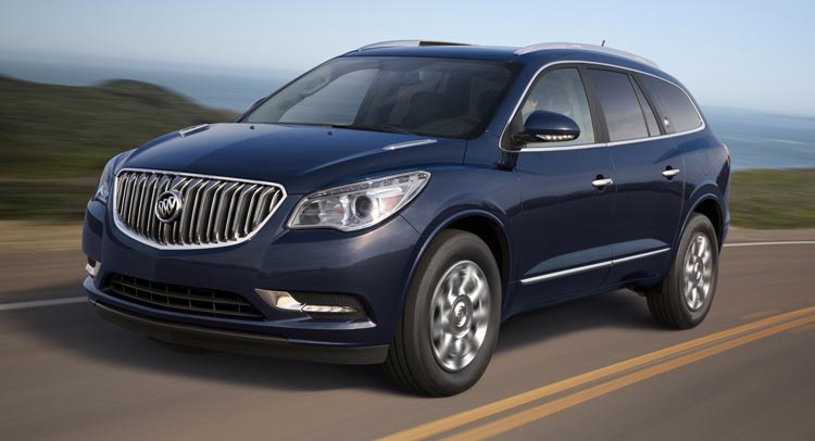 American Made Cars List - 2016-Buick-Enclave-0