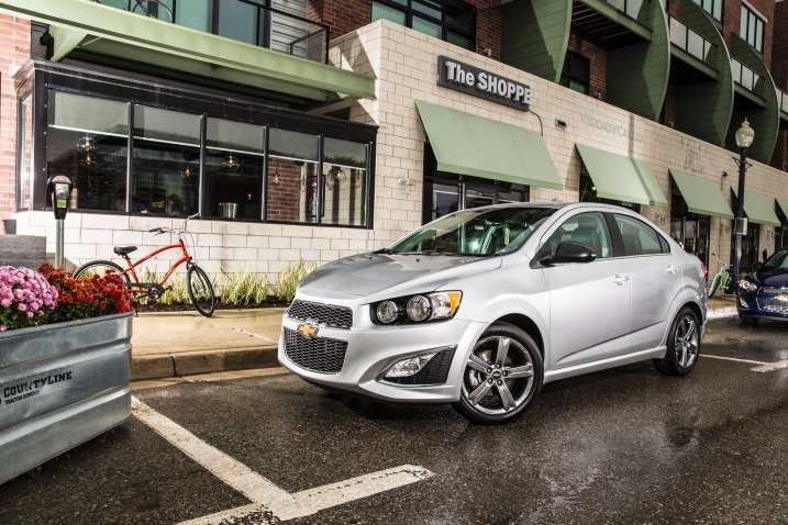 2016 Chevrolet Sonic - $14,345