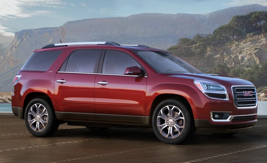 American Made Cars List - 2016-GMC-Acadia