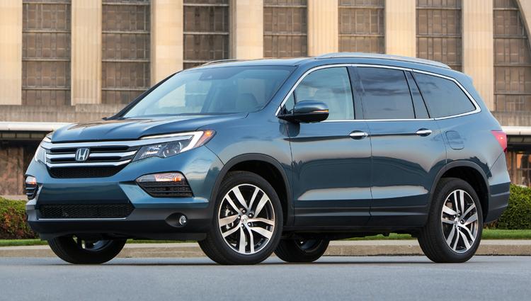 American Made Cars List - 2016-Honda-Pilot