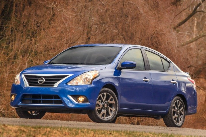 2016 Nissan Versa - $11,990 - One of the best and most affordable 2016 Sedans