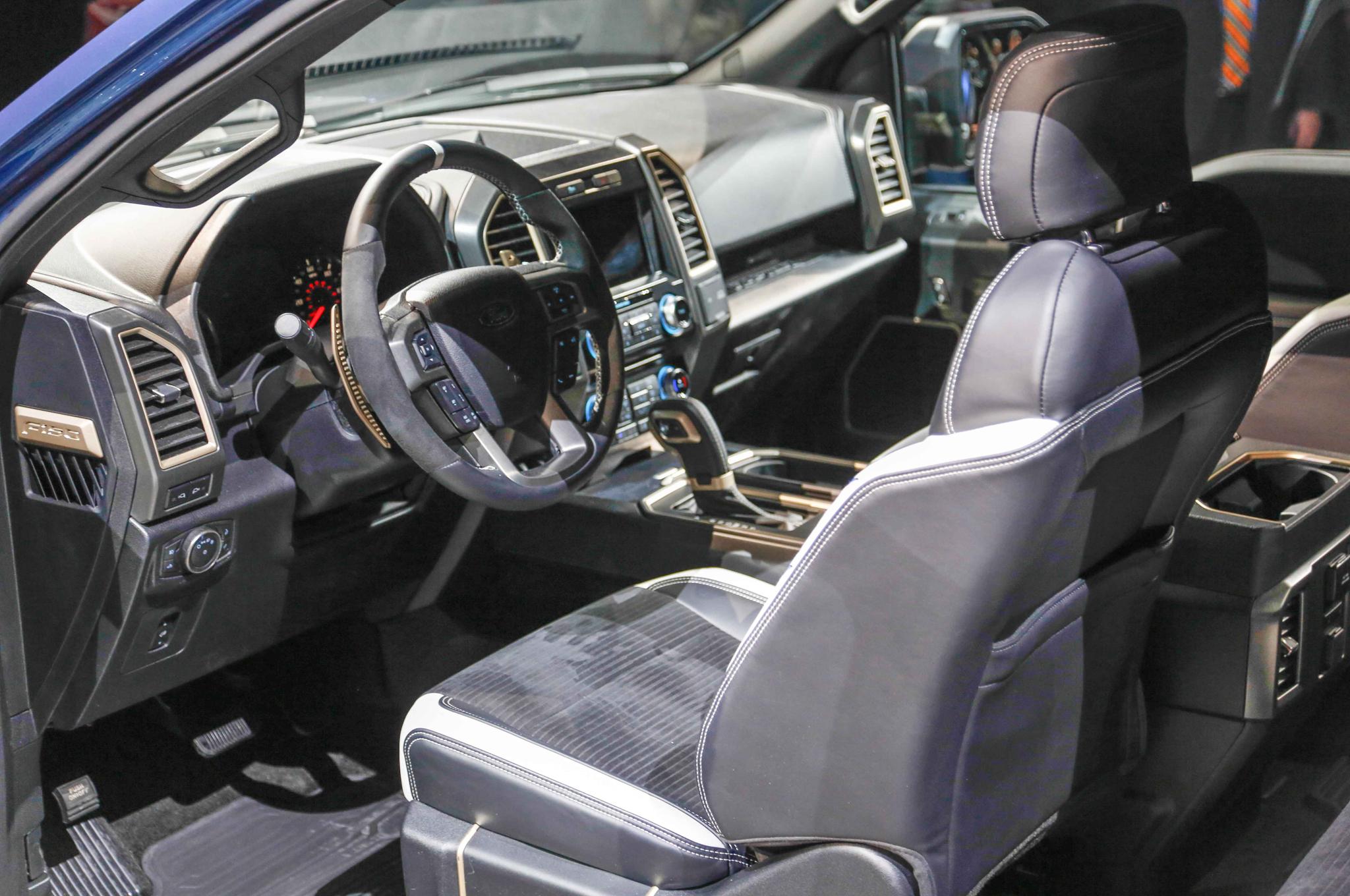 Raptor Facts - 2017 Ford F-150 Raptor Interior