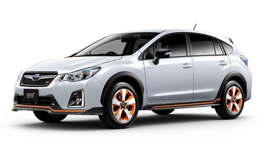 Subaru Xv Sti Front 3 4