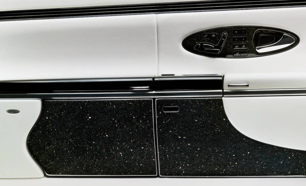 The Granite Interior of a Maybach costs $60,000