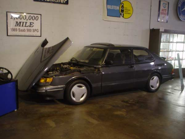 1989 Saab SPG - Most Miles Ever On A Car