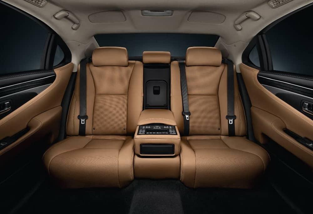 Lexus LS Reclining Back Seats - Cost: $16,400
