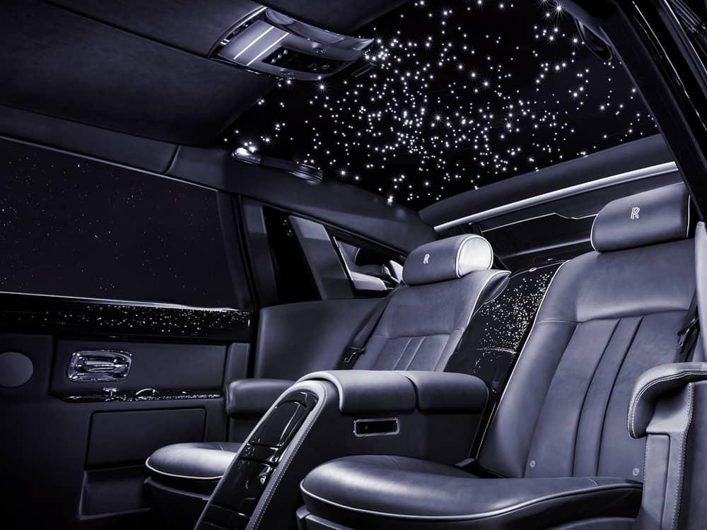 Rolls Royce Phantom Starlight Roof - Cost: $12,350