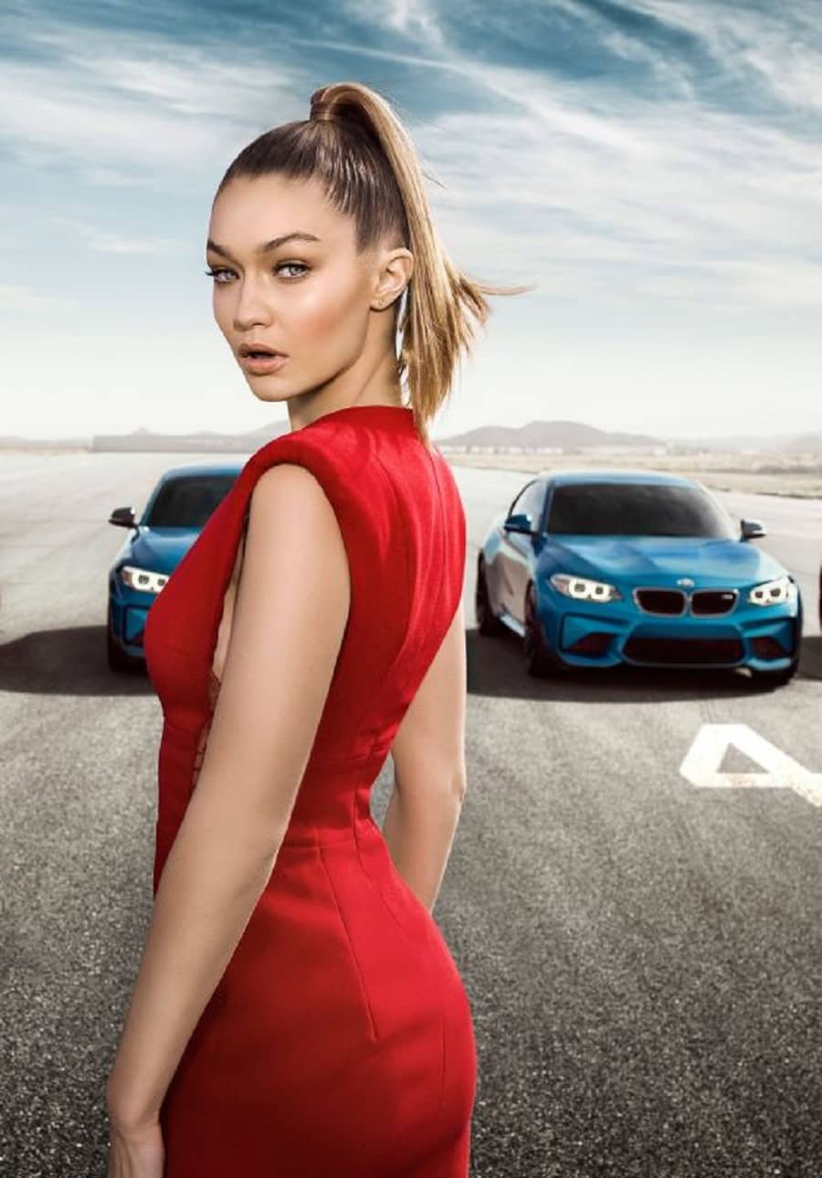 Gigi Hadid: BMW M2